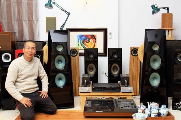 Công nghệ - Gã 'phù thuỷ' âm thanh và giấc mơ DIY loa toàn dải
